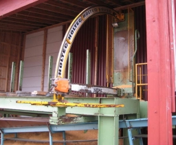 Cross-cutting saw Holtec