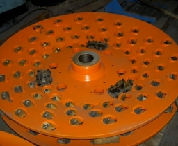 Chipper canter reducer discs
