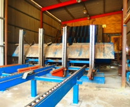 Sawn timber drysorting line