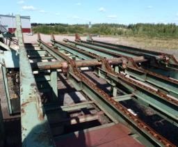 Logsorting line