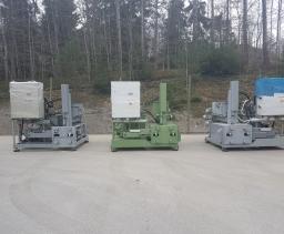 Puitbriketi tootmise press RUF RB440